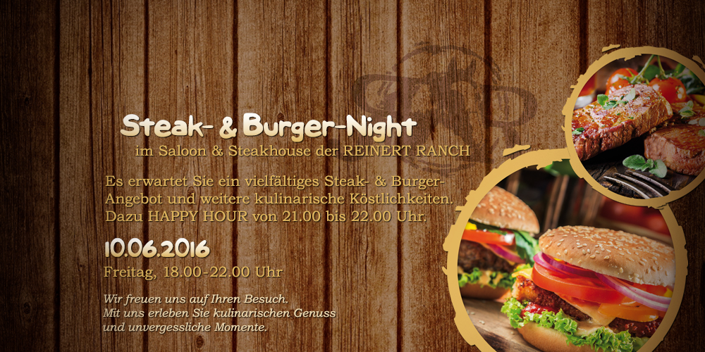 Steak- & Burger-Night | 10.06.